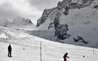 Попеременный двухшажный ход на лыжах