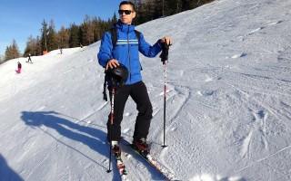 Длина лыжных палок для классического хода