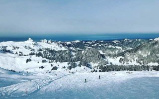 Температура для катания на лыжах