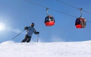 Способы торможения на лыжах