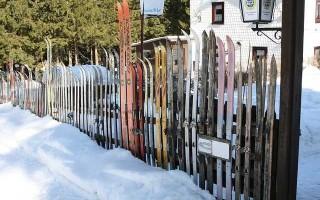 Парафин для лыж